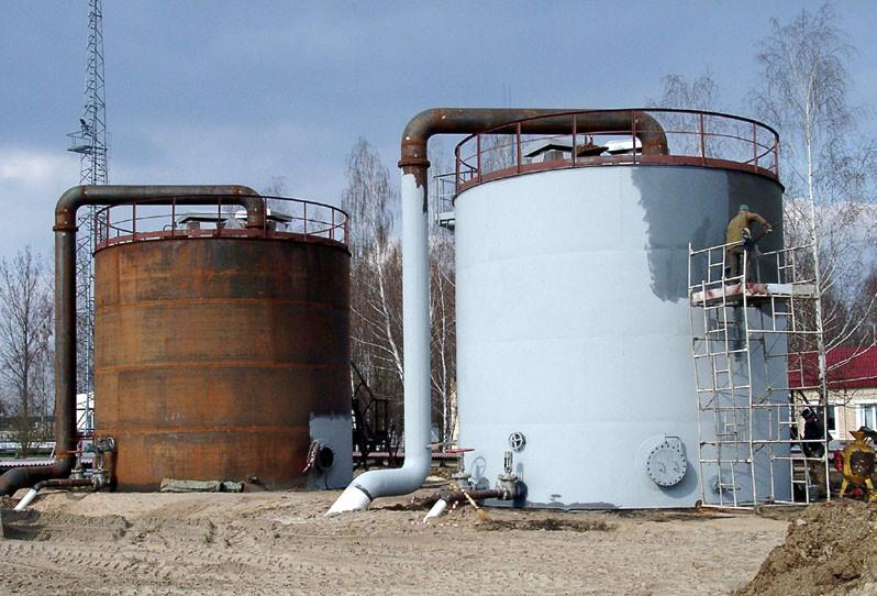 Защитное покрытие резервуаров