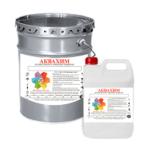 Эмаль АКВАХИМ BEST Е-22 двухкомпонентная быстросохнущая антикоррозионная